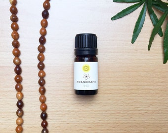 Egyptian Frangipani Essential Oil (Plumeria) - A Natural Perfume to Awaken Joy. A Confident Floral Scent Used Alone or Mixed as a Top Note.