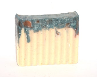 Blue Raspberry Cold Pressed Soap - Handmade Soap - Bar Soap