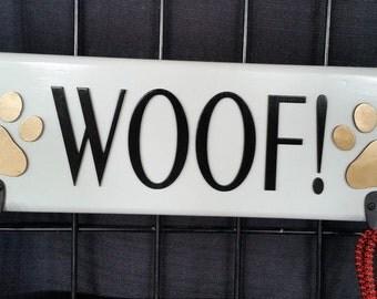 Woof leash /keys/hat hanger
