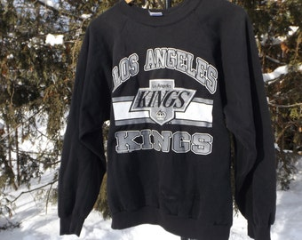 Los Angeles Kings 90s Baggy Sweatshirt Vintage Jumper LA Kings Wayne Gretzky Hockey Sweater NHL Licensed Hockey Fan 90's Clothing Slapshot