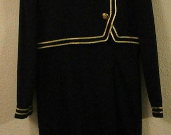 Vintage Navy Jessica Howard Dress