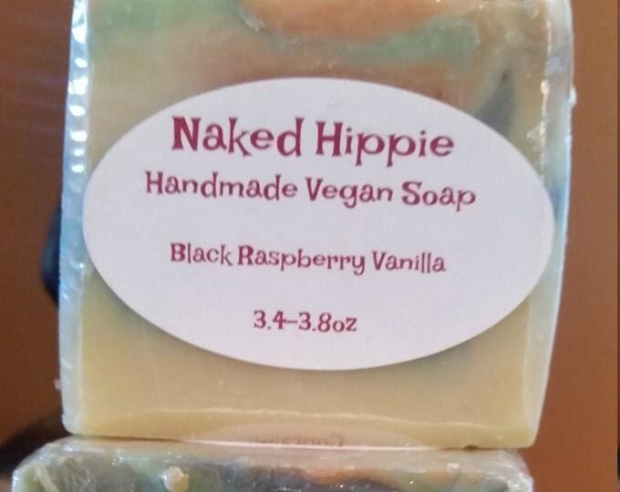 Handcrafted Black Raspberry Vanilla Soap