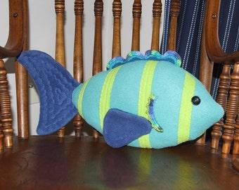 Stuffed Toy, Stuffed Animal, Stuffed Fish, Toy Fish, Toy
