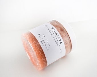 Rose Clay Sea Salt Scrub, Detoxifying