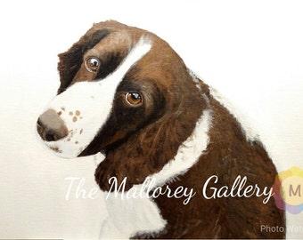 Custom Hand-Made Pet Portraits (16x20)