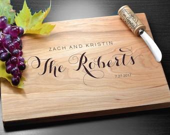 Custom Cutting Board Engraved Cutting Board Personalized Cutting board Wedding Gift Housewarming Gift Anniversary Gift Christmas Gift Board