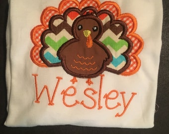 boys thanksgiving shirt, Turkey shirt, boys turkey shirt, baby turkey shirt, first thanksgiving, baby thanksgiving, fall shirt
