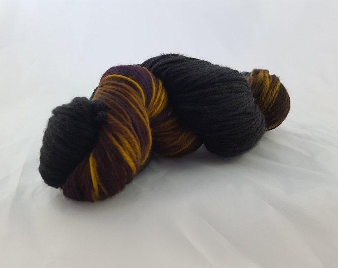 OOAK - Grizzly - Sport Weight - Sock Yarn - Arlene Base - 75/25 Merino Nylon - 274 Yards/100 Grams