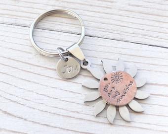 Keychain,  sunshine you are my sunshine.