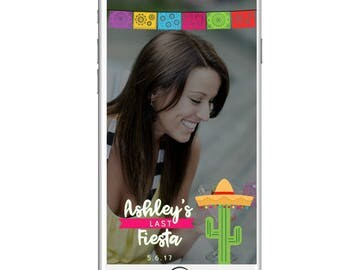 Fiesta Geofilter Fiesta theme Customizable