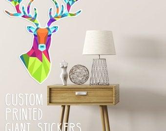 Wall Sticker, Custom Wall Sticker, Giant Sticker, Huge Sticker, Large Sticker, Large Decal, Wall Decal,  custom wall decor