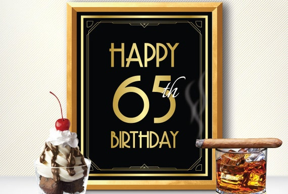 feliz 65 cumplea os decoraci n cumplea os 65 65 a os 65