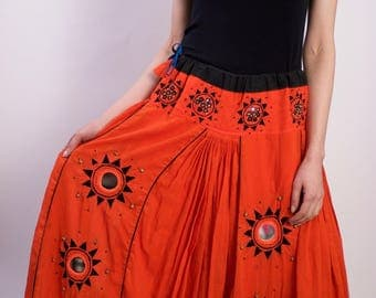 Vintage Cotton Skirt
