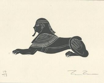 Egyptian Sphinx Etsy