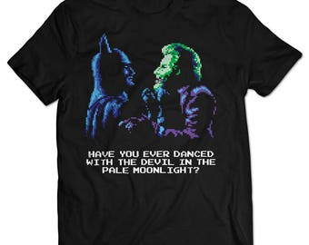 Batman and Joker NES T-shirt