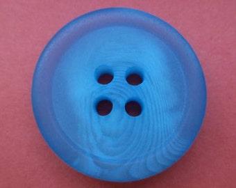 7 light blue buttons blue 23mm (5215)