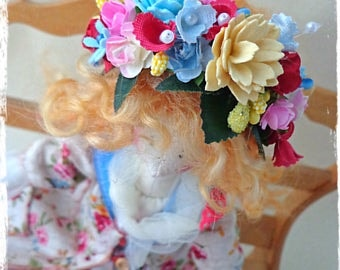 interior textile doll Tilda style boho