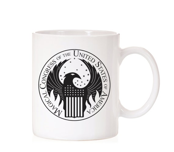 Fantastic Beasts | Magical Congress of the United States of America | MACUSA | Harry Potter Inspired | Funny Mug |  | Fandom | Gift