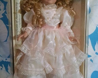 Collectors Choice Genuine Fine Bisque Porcelain Doll by Dandee REDUCED!