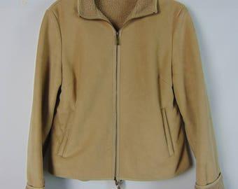 Vintage Faux Suede Jacket