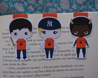 Magnetic bookmarks - Percy Jackson, Camp Half - Blood, Rick Riordan