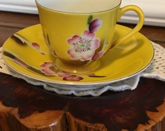 Flower Tea Cups Etsy