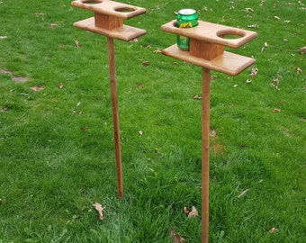 Hobo Tin Can Beer Holder Garden Drink Holder Outdoor