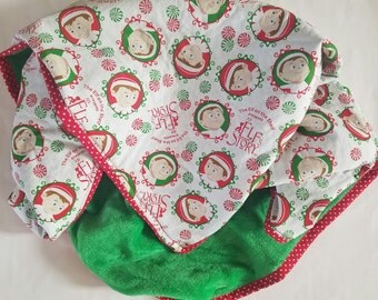 Elf on the Shelf Blanket, Elf on the Shelf, Christmas Blanket, Elf Story, Elf on the shelf baby