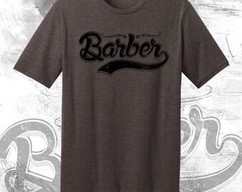 """Barber, """"Vintage Barber"""" Officially Licensed Barber Life Gear, Barbershop"""