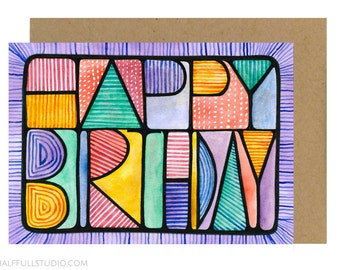 Happy Birthday Card for Friend, Best Friend Birthday, Bday Card Brother, Bday Card Him, Bday Card Boyfriend, Bday Card Girlfriend