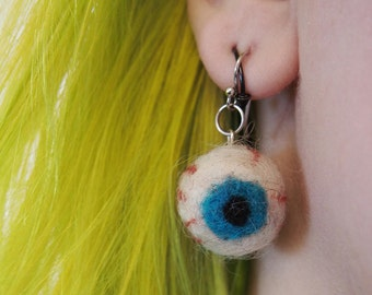 Eyeball Earrings