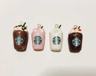 Clay Starbucks Charms