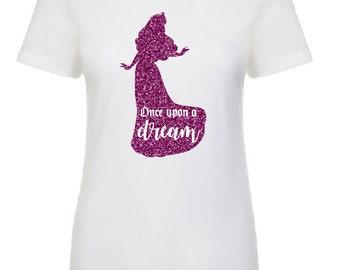 Princess Aurora Shirt Once Upon a Dream