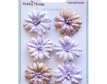 Boutique Paper Flowers - Daisies Lilac