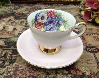 Windsor bone china teacup and saucer