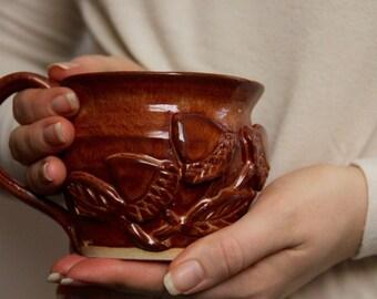 Ceramic Acorn Mug
