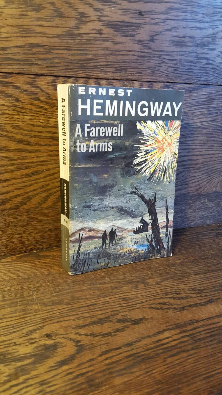 """a farewell to arms the hemingway Analysis a farewell to arms (1929)  ernest hemingway (1899-1961) """"whether the artist was a genius or not, a farewell to arms should perhaps provethat novel, of course, was destined for popular greatness."""