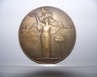Paul Marcel Dammann 1867-1927 Bronze Medal