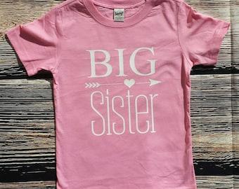 Big Sister Shirt, Big Sis shirt, New sibling shirt