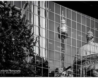 Sydney Reflection - original photograph, digital download, street photo