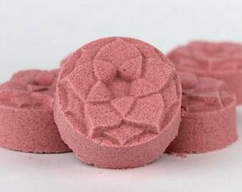 Grace Shower Steamer - Pampering Aromatherapy - Shower Bomb, shower melt, shower fizzy, bay leaf, rose, eucalyptus, basil
