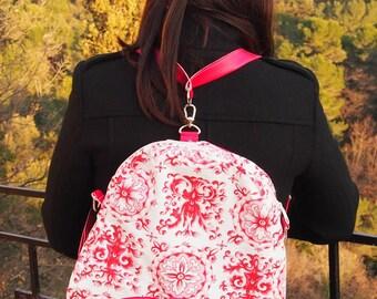 Adjustable backpack, Limbo Pink