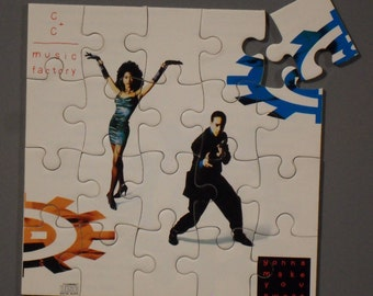 CC and the Music Factory CD Cover Magnetic Puzzle