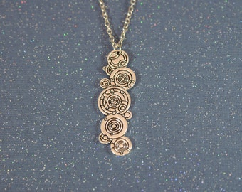 Dr Who - The Language of Gallifrey Necklace - Gallifreyan