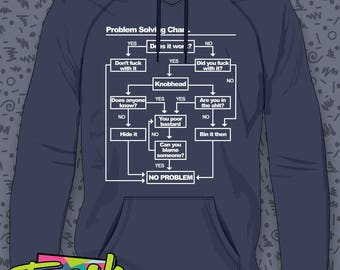 Problem Solving Chart Hoodie