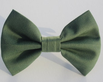 Olive Bow Tie- All Sizes