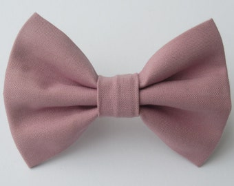 Mauve Bow Tie- All Sizes