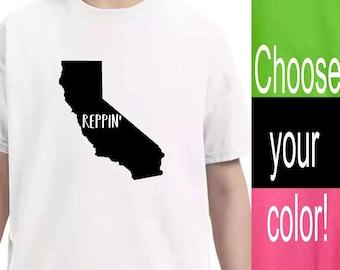 Youth Clothing, California State Shirt, Kids Toddler Shirts, Baby Onesie, Unisex kids, Pink Lime Green Black White Vinyl Shirts, Kid tshirt