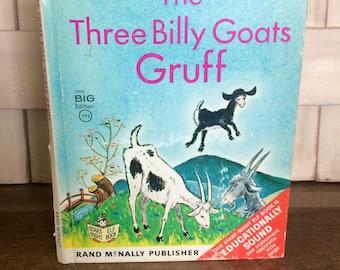 1966 Rand McNally Three Billy Goats Gruff Big Book