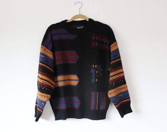 Cool Patterned Wool Sweater